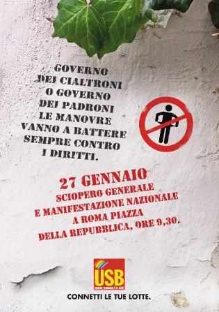 Huelga General Italia