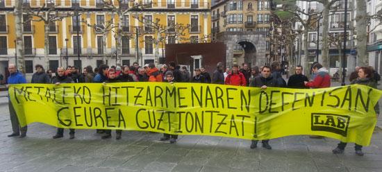 Metalgintzako delegatuen elkarretaratzea Tolosan.