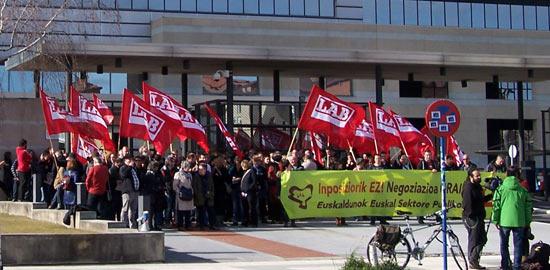 LABeko Zerbitzu Publikoetako delegatuen elkarretaratzea.