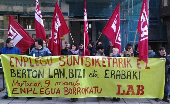 Busturialdea eta Lea Artibaiko LABeko delegatuek martxoaren 9ko manifestaziora deia egin dute
