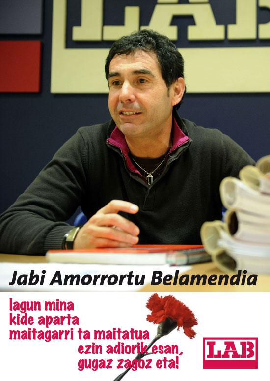 Jabi Amorrortu, LABeko Erainkuntza eta Kimika sektoreko arduradun nazionala.