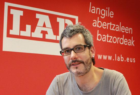Iñigo Bilbao, LAB Osakidetza kidea
