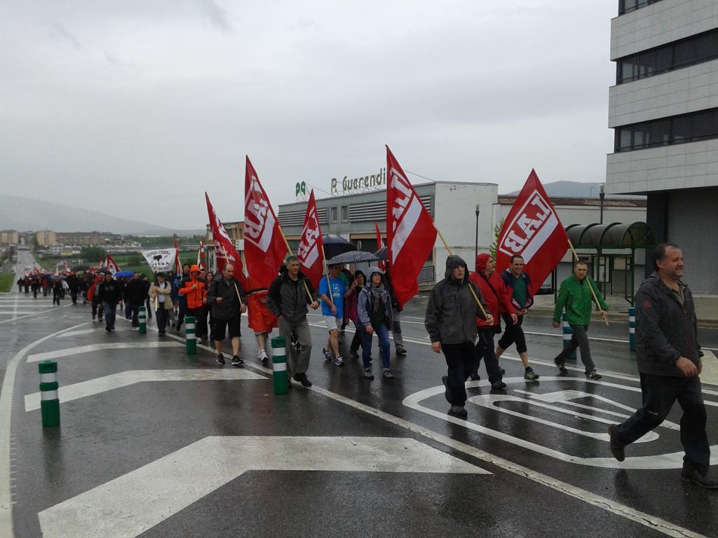 Marcha PotasasPamplona 40° aniversario del mítico encierro y del nacimiento delSindicato