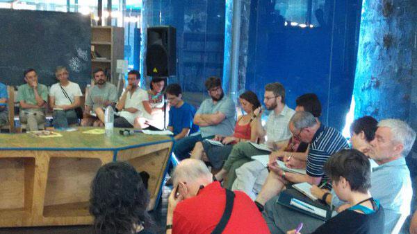 Nazioarteko II. Topaketa Ekosozialistak Madrilen burutu ziren 2015eko ekainaren 26tik 28ra (ARGAZKIA: @AlterEcoSoc)